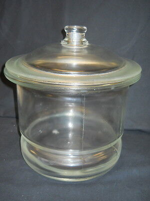 Unbranded 10 Nonvacuum Glass Desiccator With Knob Lid No O-ring Groove
