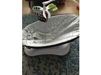 4moms® rockaRoo® Infant Swing - Silver Plush