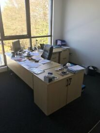 Office Furniture available. All good condition.
