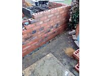 Bricklaying/ pointing