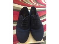 Zara Blue Shoes Loafers Casual Shoes
