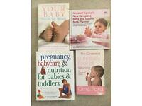 Pregnancy and parenting books
