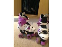 Osprey Roller Boots, adjustable sizes from 10-12, good condition from pet and smoke free home