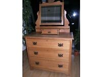 Dressing Table /Chest of Drawers (Solid Sandalwood )