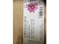 Hampton Court Palace Flower Show, two tickets, Tuesday 4th July