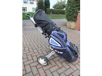 Complete Golf set including trolley