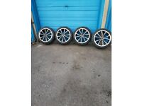 Alloys with 235/40/18 tyres