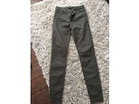 River island khaki jeans