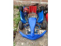 Junior Petrol Go Kart