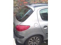 Peugeot 206 spares/repair