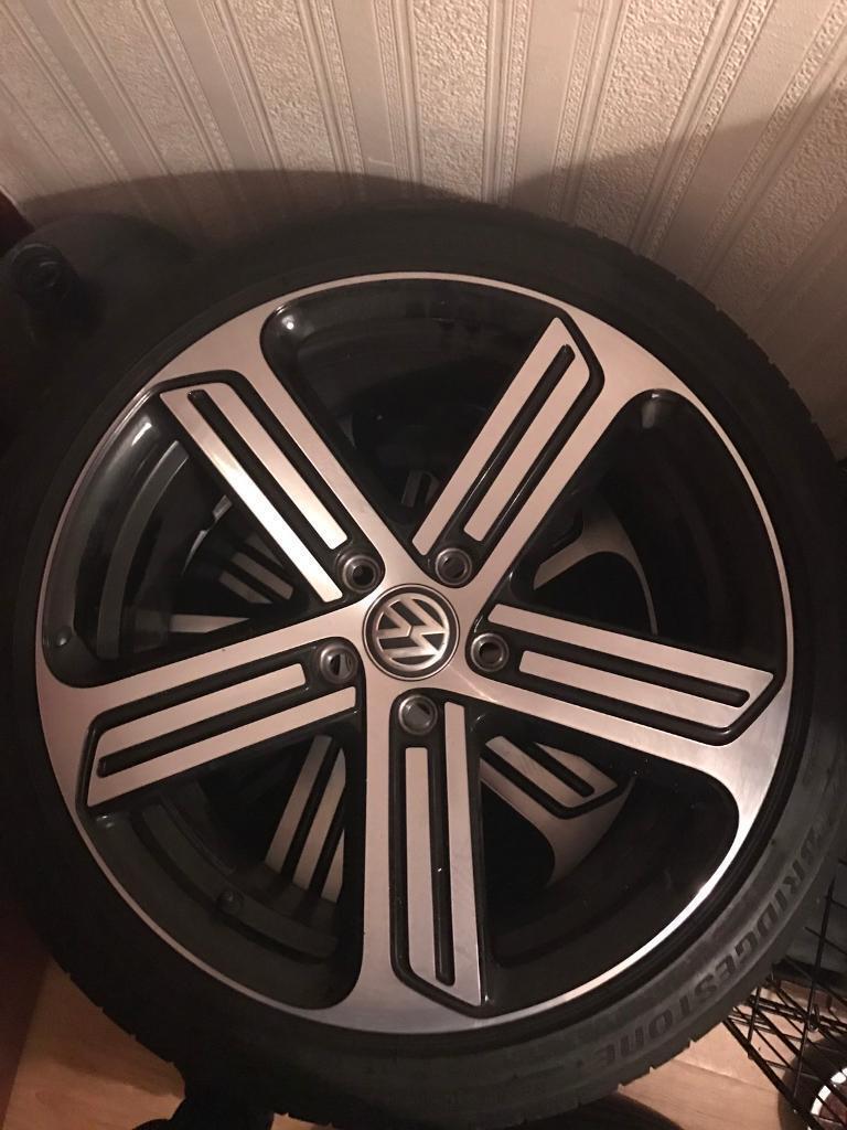 "Volkswagen Golf R Alloys 18"""