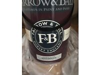 Brand new farrow & ball clunch estate emulsion paint 5l & 2.5l