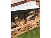 Seasoned logs