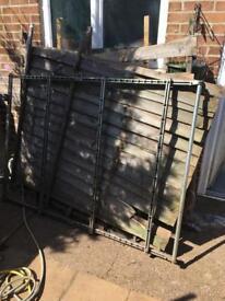 Full length van roof rack