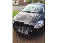Black Fiat Grande Punto *low milage* *excellent condition inside and out*