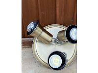 Brass look lights