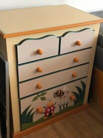 Heather spencer child's chest of drawers