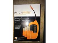 Patchmate Network Continuity tester with 12 plugs