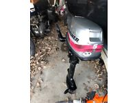 5hp fourstroke mariner short shaft outboard