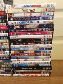 Various DVD's 50p each 3 for £1.