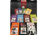 Dairy of a Wimpy Kid Books - Set of 11 Immaculate