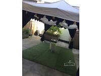 10% OFF Kasey Events - Chill Out Lounge-Luxury Marquee/Gazebo Hire with 3 Sofas for outdoor events