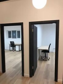 Wimbledon Park industrial style offices - £290/ workstation per month
