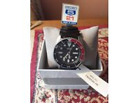 Gents seiko divers watch