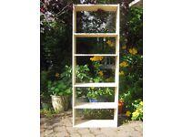 Bookcase, light wood effect laminate and chipboard, 173 cm (H) x 64cm (W) x 24cm (D)
