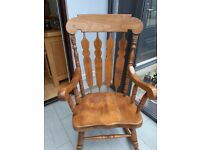 Hard Wood Rocking Chair