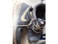 Grey Nike trainers