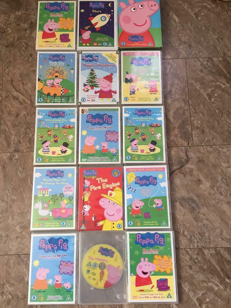 Peppa Pig DVD collection | in Ribbleton, Lancashire | Gumtree