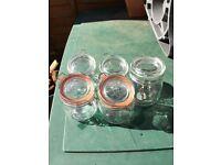 Pickling jars