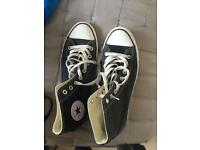 Black hightop converse size 9 men's