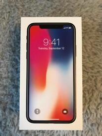 Brand New Unlocked iPhone X 64gb Space Grey