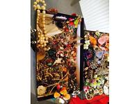 Large assortment of new and vintage jewellery