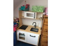Wooden Kitchen for kids IKEA
