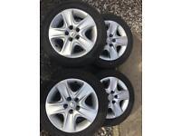 Vauxhall 16 inch wheels