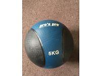 Pro's Pro 5 kg Exercise ball / medicine ball / slam ball