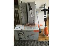 Stihl (130R) Kombi Engine with AR100 Battery Backpack and attachments