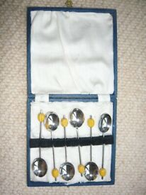 Spoons - Vintage, Coffee, EPNS Silver