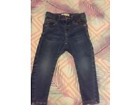 1 next jeans aged 2-3 and 1 Zara jeans aged 2-3 boys