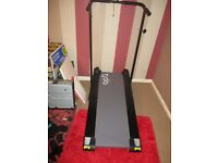 Manual Treadmill, Foldable never used, unwanted gift, comes with manual,oil pedometre