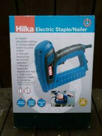 Electric staple nail gun