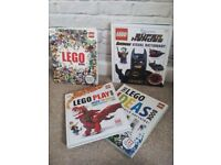 Collection of Lego books