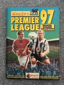 Merlin's Premier League Sticker Album 1997