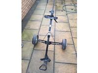 Golf trolleys used but in perfect working order