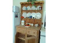 Natural (unfinished) Solid Pine Welsh Dresser