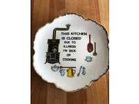 50p - Comical Kitchen Plate