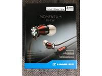 Sennheiser Momentum In Ear Buds -Red